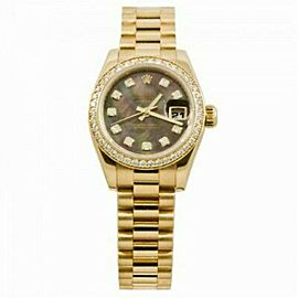Rolex Datejust 179138 Gold 26.0mm Women Watch (Certified Authentic & Warranty)