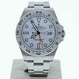 Rolex Explorer Ii 216570 Steel 42.0mm Watch (Certified Authentic & Warranty)