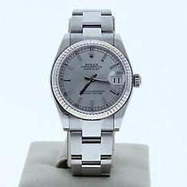 Rolex Datejust 178274 Steel 31.0mm Women Watch (Certified Authentic & Warranty)