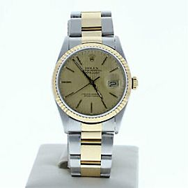 Rolex Datejust 16233 Steel 36.0mm Watch (Certified Authentic & Warranty)