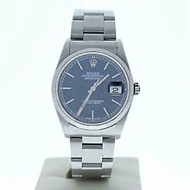 Rolex Datejust 16200 Steel 36.0mm Watch (Certified Authentic & Warranty)