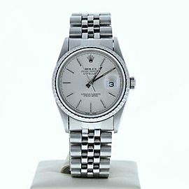 Rolex Datejust 16220 Steel 36.0mm Watch (Certified Authentic & Warranty)