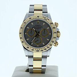 Rolex Daytona 116523 Steel 40.0mm Watch (Certified Authentic & Warranty)