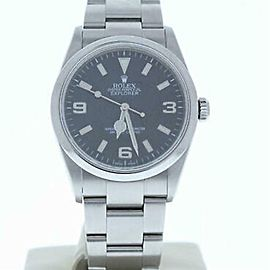 Rolex Explorer 114270 Steel 36.0mm Watch (Certified Authentic & Warranty)