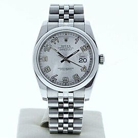 Rolex Datejust 116200 0 36.0mm Watch (Certified Authentic & Warranty)