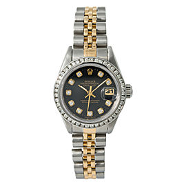 Rolex Datejust 69173 Steel 26mm Women Watch (Certified Authentic & Warranty)