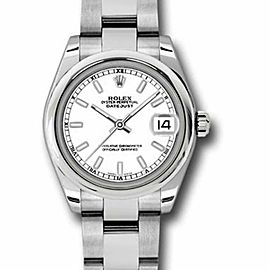 Rolex Datejust 178240 Steel 31.0mm Watch (Certified Authentic & Warranty)