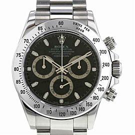 Rolex Daytona 16520 Steel 40.0mm Watch (Certified Authentic & Warranty)