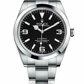 Rolex Explorer 214270 Steel 38.0mm Watch (Certified Authentic & Warranty)