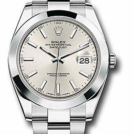 Rolex Datejust 126300 Steel 41.0mm Watch (Certified Authentic & Warranty)