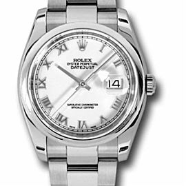 Rolex Datejust 116200 Steel 36.0mm Watch (Certified Authentic & Warranty)