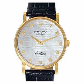 Rolex Cellini 5115 Gold 32.0mm Women Watch (Certified Authentic & Warranty)
