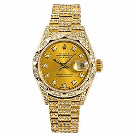 Rolex Datejust 69278 Gold 26.0mm Women's Watch (Certified Authentic & Warranty)