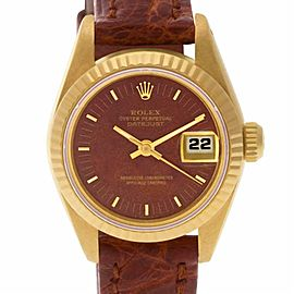 Rolex Datejust 69178 Gold 26.0mm Women's Watch (Certified Authentic & Warranty)