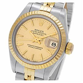 Rolex Datejust 69173 Steel 26.0mm Women's Watch (Certified Authentic & Warranty)