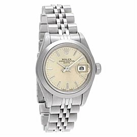 Rolex Date 69160 Steel 26.0mm Women's Watch