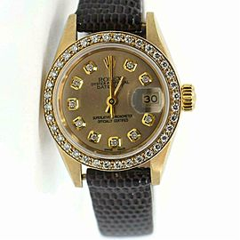 Rolex Datejust 69179 Gold 26.0mm Women's Watch