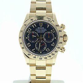 Rolex Daytona 116528 Gold 40.0mm Watch