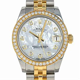 Rolex Datejust 178383 Two Tone 31.0mm Women's Watch
