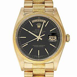 Rolex Day-date 18038 Gold 36.0mm Watch