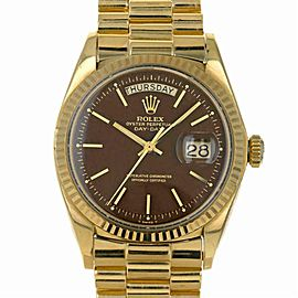 Rolex Day-date 1803 Gold 36.0mm Watch