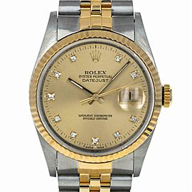 Rolex Datejust 16233 Steel 36.0mm Watch