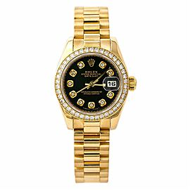 Rolex Datejust 179138 Gold 26.0mm Women's Watch