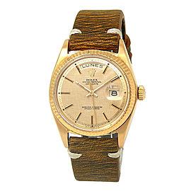 Rolex Day-date 1803 Gold 36mm Watch