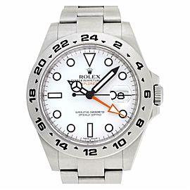 Rolex Explorer Ii 216570 Steel 41.0mm Watch