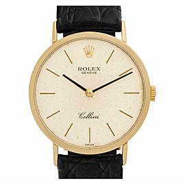Rolex Cellini 4112 Gold 32.0mm Watch