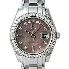 Rolex Day-date 18946 Platinum 39mm Watch