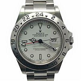 Rolex Explorer Ii 16570 Steel 40mm Watch