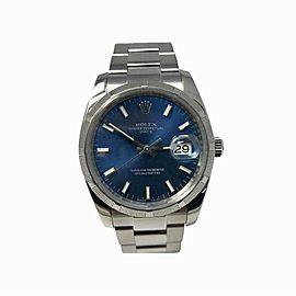 Rolex Date 115210 Steel 34.0mm Watch