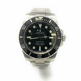 Rolex Submariner 114060 Steel 40.0mm Watch