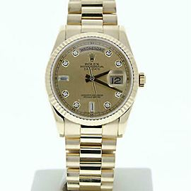 Rolex Day-date 118238 Gold 36.0mm Watch