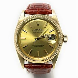 Rolex Datejust 1601 Gold 36.0mm Watch
