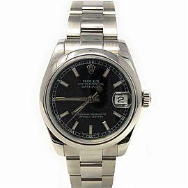 Rolex Datejust 178240 Steel 31.0mm Women's Watch
