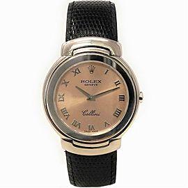 Rolex Cellini 6622 Gold 33.0mm Women's Watch