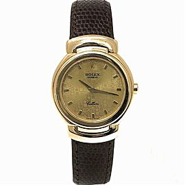 Rolex Cellini 6621/8 Gold 26.0mm Women's Watch