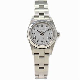 Rolex Oyster Perpetual 76080 Steel 24.0mm Women's Watch