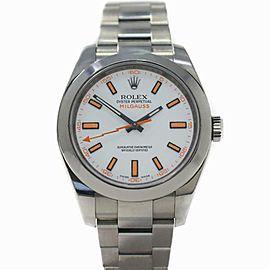 Rolex Milgauss 116400 Steel 40.0mm Watch