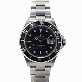 Rolex Submariner 16610 Steel 40.0mm Watch