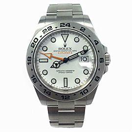 Rolex Explorer Ii 216570 Steel 40.0mm Watch