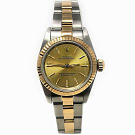 Rolex Oyster Perpetual 67193 Steel 26.0mm Women's Watch