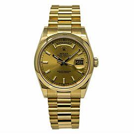 Rolex Day-date 118208 Gold 36.0mm Watch