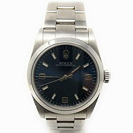 Rolex Oyster Perpetual 77080 Steel 34.0mm Women's Watch