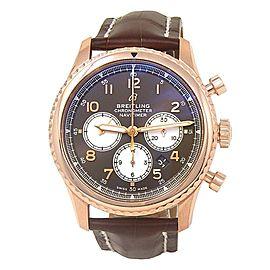 Breitling Navitimer 8 B01 18k Rose Gold Men's Watch Automatic RB0117