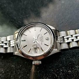 ROLEX Ladies Oyster Perpetual Date 6916 Automatic, c.1973 Swiss Vintage LV842