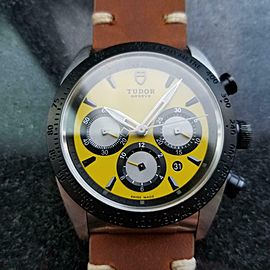 "TUDOR Men's ref.42010 ""Fastrider"" Chronograph Automatic, c.2010s Swiss LV967TAN"