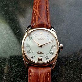 ROLEX Ladies 18K Cellini Danaos ref.6229 Dress Watch, c.2001 Swiss Luxury LV706